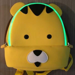 LitePals Kids yellow backpack